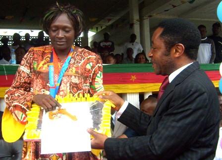Buea mayor offers of the municipality to mbango
