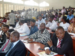 Cross section of participants at UB Business and Employment Forum