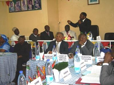 Council session