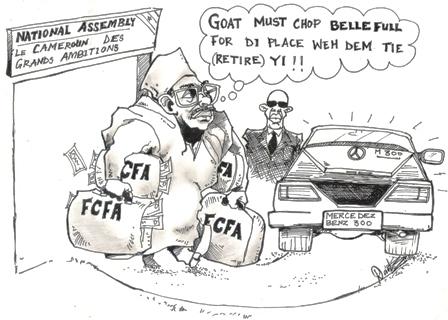 Cartoon on House Speaker