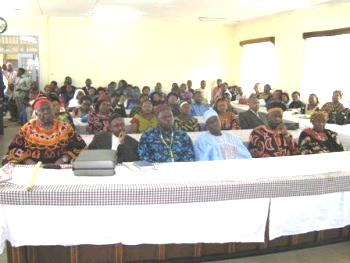 Some Fons and Widows at the training seminar