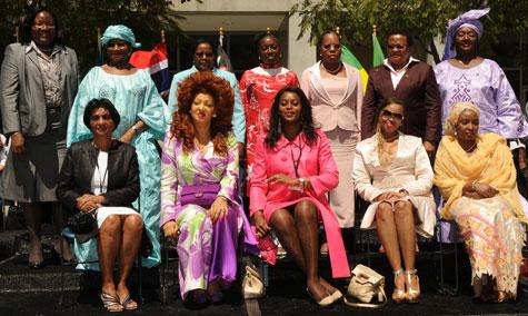 Chantal Biya in Hollywood