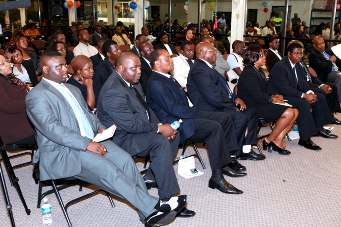 Cross Section of participants at the Atlanta Meeting