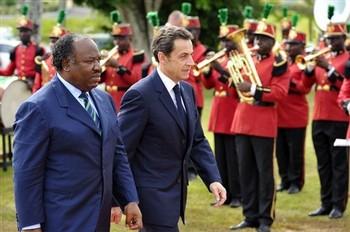 Sarkozy ali bongo