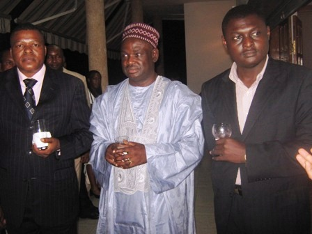 Chevening Scholars - SonaPeter,George Ngwane and John Ngando