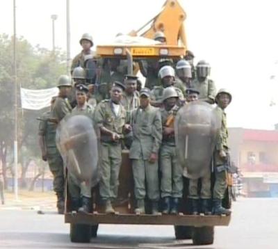 Police Catapillar