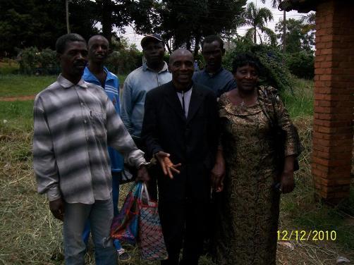 Justice Mbu in Suit