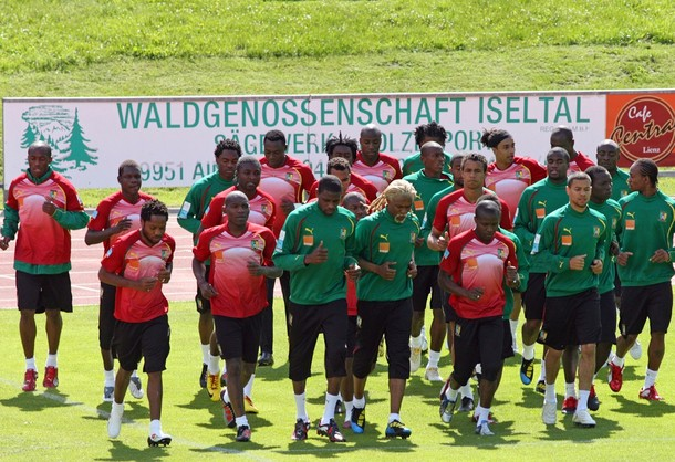 Indomitable Lions Begin World Cup Training