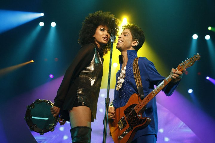 Andy Allo and Prince in Concert