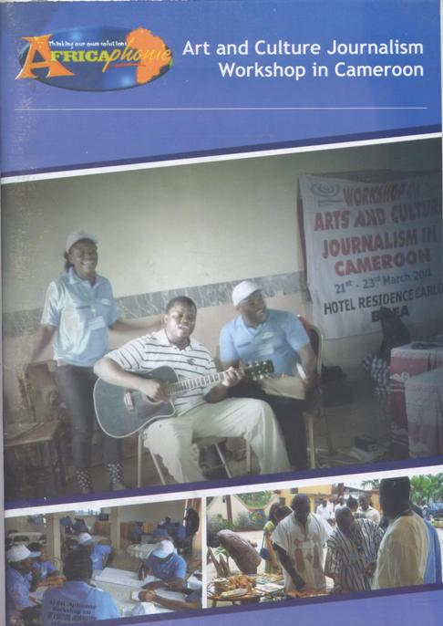 Arts and Culture Journalism Workshop in Cameroon