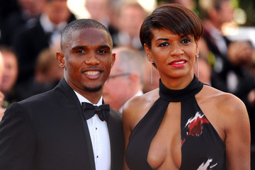 Samuel Eto'o is married to Georgette, his longtime sweetheart in 2007.