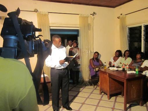 Book Reading Ndeh Avwontom