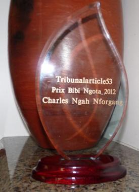 2012 Bibi Ngota Award