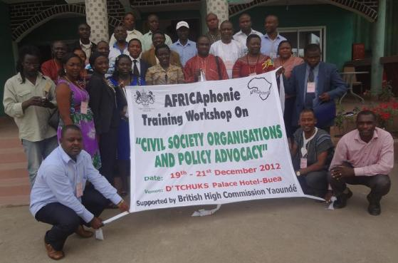 AFRICAphonie Workshop Participants