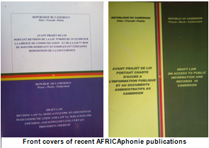AFRICAphonie publications