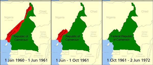 Boundary Changes between Southern Cameroons and The Republic of Cameroun