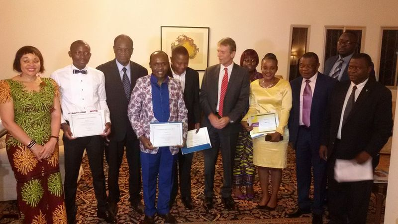 Winners of the 2015_2016 Investigative Journalism Awards of the British High Commission.