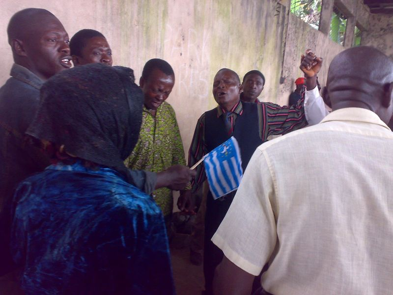 SCNC Detainees in Buea, 2011