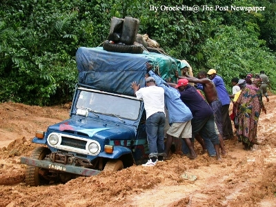 Bad Roads in Africa Bad_road Example of Bad Roads