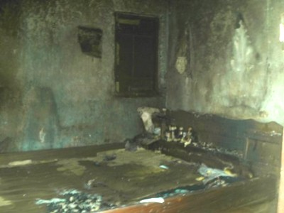 Hilarys_room_destroyed_by_fire